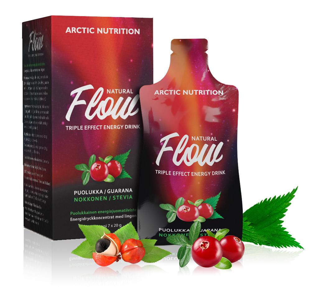 Flow - triple effect energy drink